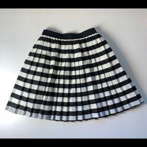 Black and white Divided skirt